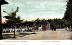 Ansichtskarte / Postkarte Zeithain, Truppenübungsplatz, Prinz Johann Georg Straße