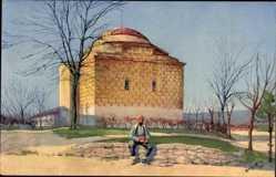 Künstler Ak Berghoff, Niš Nisch Serbien, Moschee in der Zitadelle