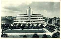 Postcard Zemun Zimony Zemlin Belgrad Serbien, Vazduhoplovna komanda