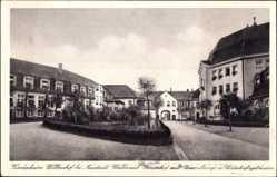 Postcard Störnstein, Kinderheim Wöllershof, Innenhof mit Veranstaltungsgebäuden