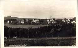 Foto Ak Störnstein, Blick auf den Ort und Kinderheim Wöllershof, Felder