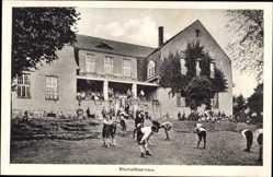 Postcard Störnstein, Blick auf Rheinpfälzerhaus, Kindererholungsheim Wöllershof