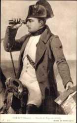 Künstler Ak Vernet, Horace, Bataille de Wagram, detail, Napoleon Bonaparte