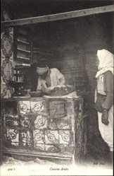 Ak Maghreb, Cuisine Arabe, Straßenverkäufer, Küche, Herd