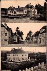 Postcard Grafenwöhr, Truppenübungsplatz, Offizierskasino, Lager, Generalswohnung