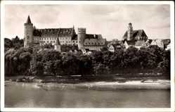 Postcard Lauingen an der Donau Schwäbische Alb, Elisabethstift, Martinsmünster