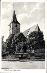Postcard Holzgerlingen Böblingen in Baden Württemberg, Evangelische Kirche