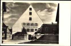 Postcard Ulm an der Donau Baden Württemberg, Jugendherberge der Stadt Ulm