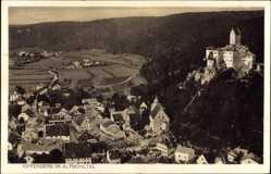 Postcard Kipfenberg im Kreis Eichstätt Oberbayern, Ortschaft mit Schloss