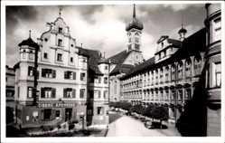 Foto Ak Dillingen an der Donau in Nordschwaben, Obere Apotheke, Straße