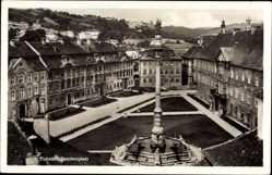 Postcard Eichstätt in Oberbayern, Blick auf den Residenzplatz