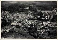 Postcard Homburg im Saarpfalz Kreis, Blick auf den Ort, Fliegeraufnahme