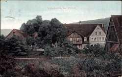 Postcard Altdorf bei Nürnberg, Schleifmühle, Blick auf ein Fachwerkhaus