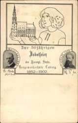 Studentika Ak Coburg in Oberfranken, Baugewerkschule, 50. Jubiläum, Rothlart