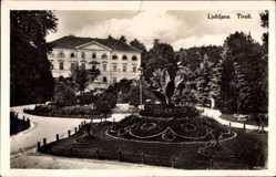 Postcard Ljubljana Laibach Slowenien, Tivoli, Gartenanlagen