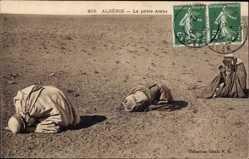 Ak Algerien, La priere Arabe, Araber beim Gebet, Moslems, Collection Idéale P.S.
