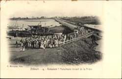 Ak Dschibuti, Ramadam, Musulmans venant de la Priere, Muslime