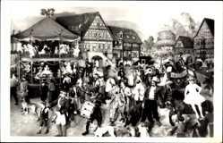 Postcard Sonneberg in Thüringen, Kirmes, Waltausstellungsgruppe 1910, Spielzeug