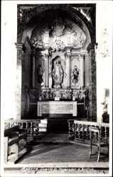 Foto Ak Madeira Portugal, Tumulo do Imperador d'Austria, Innenansicht, Altar