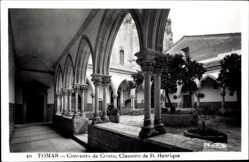 Postcard Tomar Portugal, Convento de Cristo, Claustro de D. Henrique