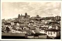Postcard Évora Portugal, Vista parcial, Teilansicht der Stadt, Kathedrale
