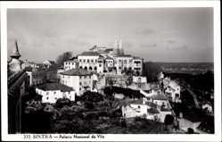 Postcard Cintra Sintra Portugal, Palacio Nacional da Vila