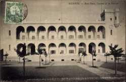 Ak Bizerte Tunesien, Baie Ponty, Caserne de la Marine, Kaserne, Arkaden