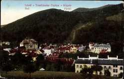 Postcard Trenčianske Teplice Trentschin Teplitz Slowakei, Totale vom Ort