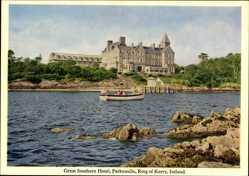 Postcard Parknasilla County Kerry Irland, Great Southern Hotel, Ring of Kerry