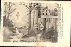 Künstler Ak Clichy s Bois Seine Saint Denis, Le Miracle de N. D. des Anges