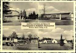 Ak Mönchengladbach, Hauptquartier der Brit. Rheinarmee, Kasernen