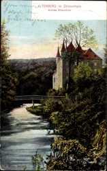Postcard Altenberg Odenthal Bergisches Land, Dhünnthal, Schloss Strauweiler