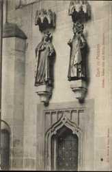 Statuen am Dom