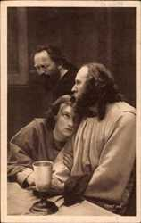 Passionsspiele 1922, Abendmahlszene