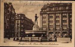 Theaterplatz, Merkurbrunnen