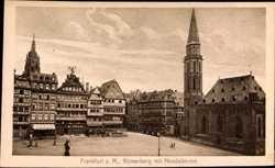 Römerberg mit Nikolaikirche