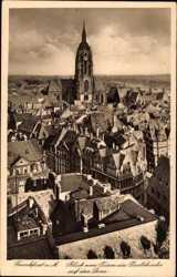 Blick vom Turm der Pauluskirche