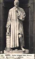 Portici Galleria Uffizi, Niccolo Macchiavelli