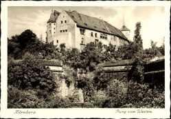 Burg von Westen