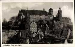 Burg von Süden