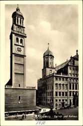 Perlach und Rathaus