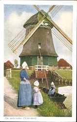 De watermolen, Volendam