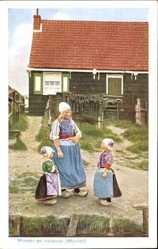 Moeder en kinderen, Marken