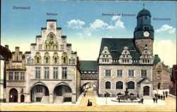 Rathaus, Bäckerei, Sparkasse