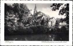 Hölderlinsturm und alte Aula