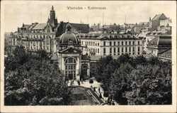Koch Brunnen, Stengel