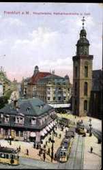 Hauptwache, Katharinenkirche, Zeil