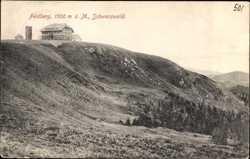 Haus auf dem Feldberg