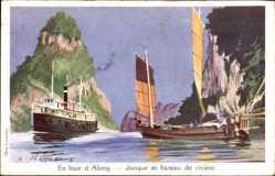 Haffner, A., En baie d'Along