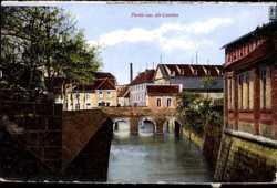 Alt Landau, Kanal